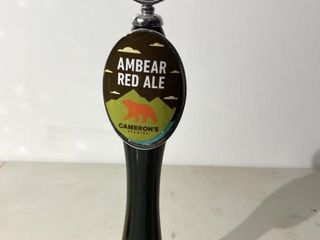 Camerons Ambear Red Ale Tap Handle