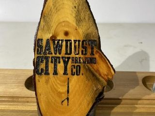 Sawdust City Tap Handle