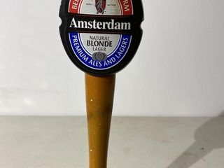 Amsterdam Blonde Ale Tap Handle
