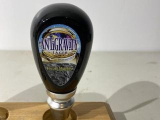 Flying Monkey Anti Gravity lager Tap Handle