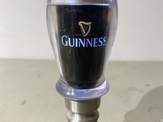 Guinness light Up Beer Tap Handle