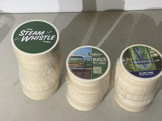 3 Rolls of Steam Whistle Coasters