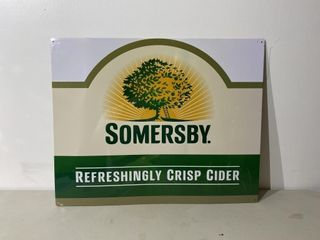 Somersby Tin Sign