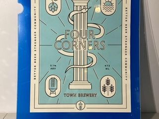 Four Corners Brewery Poster