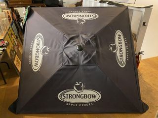 Strongbow Cider Patio Umbrella   Missing pole