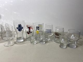 london Area Craft Beer Glasses