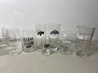 Craft Beer Glass Collection x 7