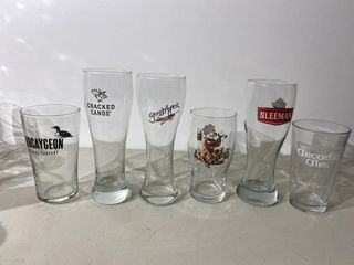 Craft Beer Glass Collection x 6