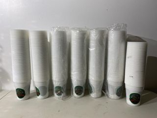 Alexander Keiths Plastic Cups  approx 340