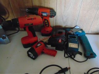 6 pcs cordless tools   other SEE PICS