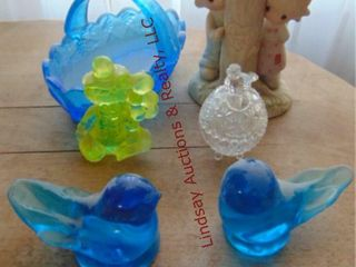 5 pcs of decor  birds  Precious Moments