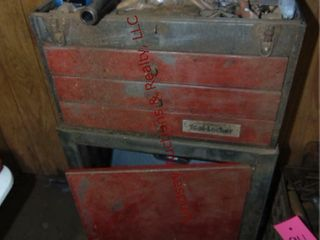 Tool locker cart WITH CONTENTS  See Pics