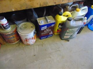 1 lot mixed auto fluids SEE PICS