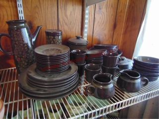 Approx 54pcs of Franciscan dishes