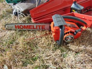 Homelite super 2 chainsaw w  case