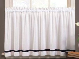 Saturday Knight limited Kate  57 x 24 Tier Pair  White Base Color and Black trim