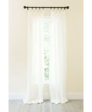 Manor luxe Classic linen Rod Pocket Curtain Collection