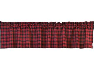 VHC Brands Cumberland lined Valance