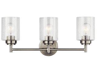 Kichler 45886 Winslow 3 light 22  Wide Bathroom Vanity light