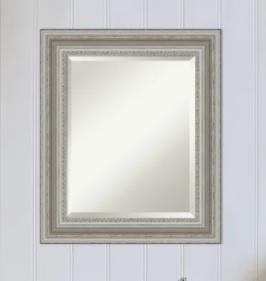 The Gray Barn Parlor Silver Bathroom Vanity Wall Mirror Retail 311 99