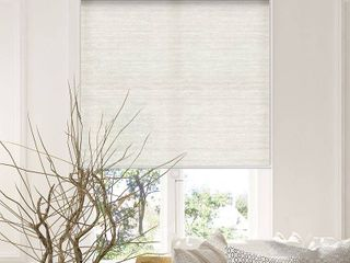 Chicology Snap N Glide Cordless Roller Shades   Window Blind Curtain Drape  Natural Woven  Privacy   Felton Sand  48 W X 72 H