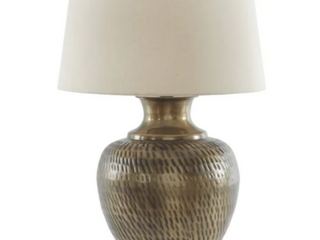 Eviana Metal Table lamp Antique Brass