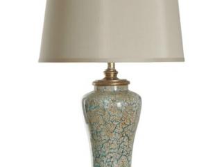 Stylecraft Caledonia Blue   Gold Table lamp