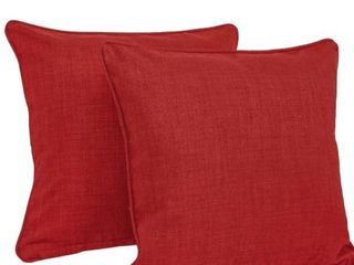 Blazing Needles 18 Inch All Weather Throw Pillows