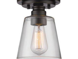 Avery Home lighting 1 light Flush Mount in Old Bronze  Retail 82 00