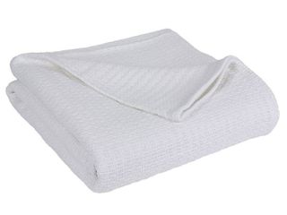 Elite Home  Grand Hotel Collection  King Blanket  White