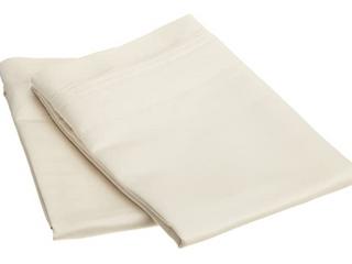 Superior Egyptian Cotton 1000 Thread Count Solid Pillowcase Set  Set of 2