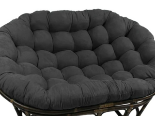 Blazing Needles 65 inch Microsuede Papasan Chair Cushion