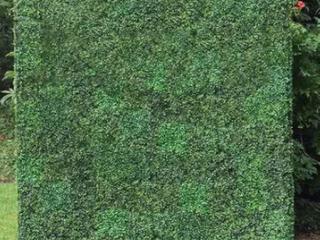 12 Artificial Boxwood Hedge Greenery Panels