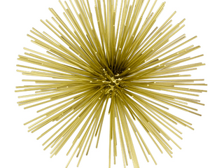 Home roots Antique Gold Urchin Sphere