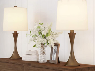 Pair of lavish Home Table lamps
