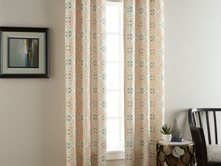 Nanshing Aldrich Window Curtain Panels Set of 2 with Grommet