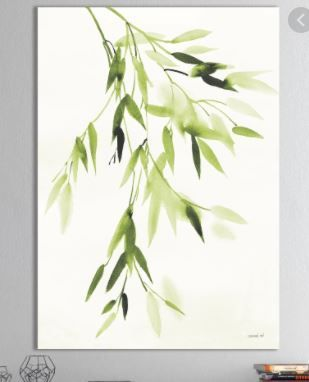 Designart Simplest Bamboo leaves