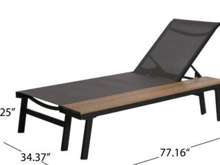 Waterloo Outdoor Chaise lounge
