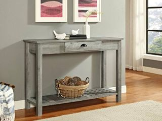 WE Furniture 48  Country Style Entry Console Table