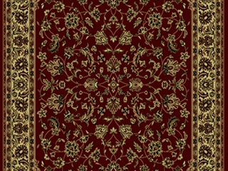 Radici USA 953 Casana Traditional Burgundy Oriental Sarouk Area Rug  3 3  x 4 11