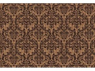 Indoor  Outdoor Damask Doormat  24 x 36