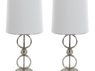 Table lamps with Shades Set of 2 by lavish Home