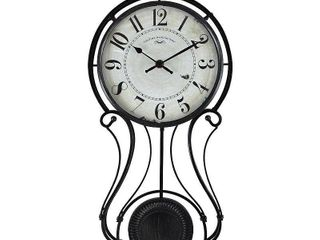 FirsTime   Co  Harwick Pendulum Wall Clock   9 1 x 2 36 x 20