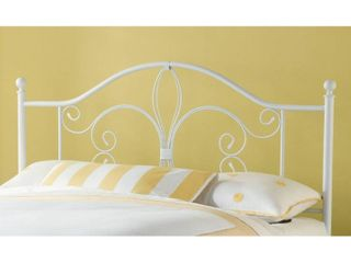 Twin Ruby Headboard White   Hillsdale Furniture