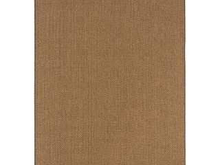 Oriental Weavers 2160N Karavia Area Rug  7 Feet 10 Inch by 10 Feet 10 Inch  Tan