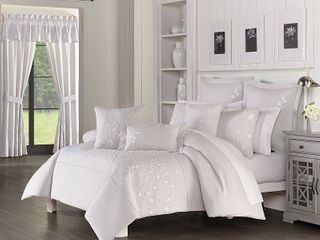 Piper   Wright Cherry Blossom Comforter 3 piece Set  King Bedding