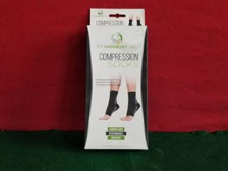 FIT HARMONY 365 COMPRESSION SOCKS SIZE l