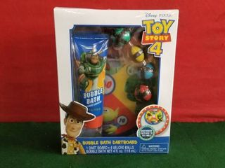 Toy Story 4a Bubble Bath   Dart Board Set