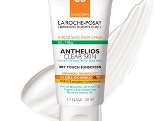 la Roche Posay Anthelios Clear Skin Sunscreen   SPF 60   1 7 fl oz
