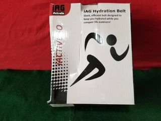 IAG HYDRATION BElT SlEEK EFFICIENT BElT TO KEEP YOU HYDRATED WHIlE YOU CONQUER lIFE OUTDOORS